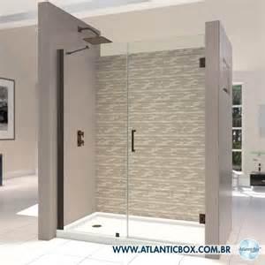 60 Inch Shower Door Box Para Banheiro De Abrir Box De Vidro Vidra 231 Atlanticbox