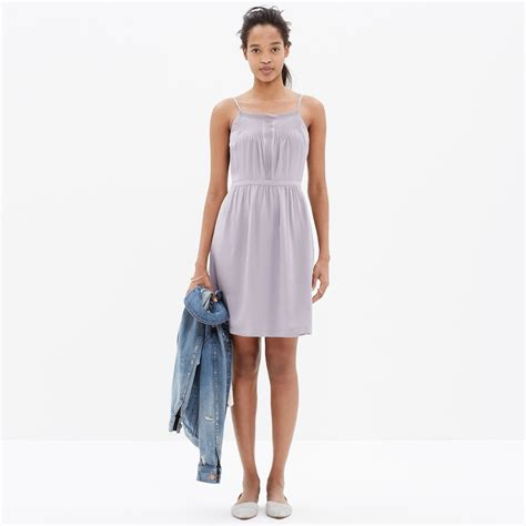 Cami Printed Dress madewell printed silk cami dress the miracle of madewell