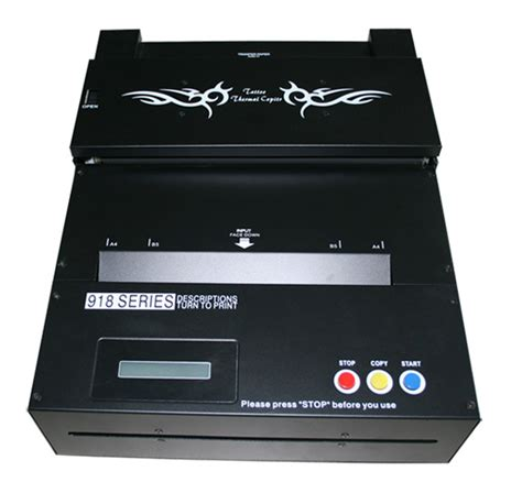 laser printer tattoo transfer thermal copier machine