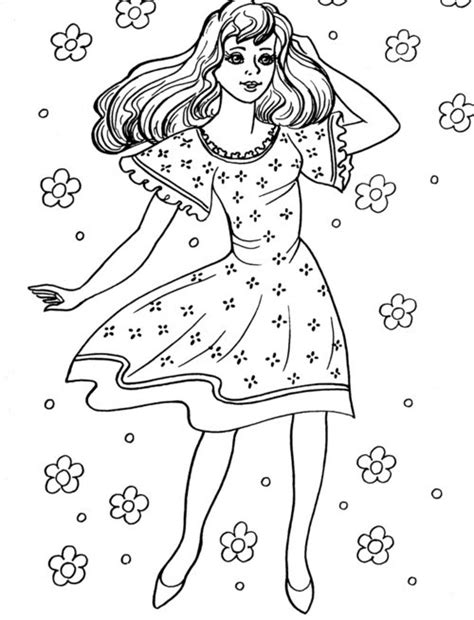 coloring pages of a girl girl coloring pages for kids gt gt disney coloring pages