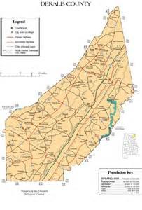 maps of dekalb county