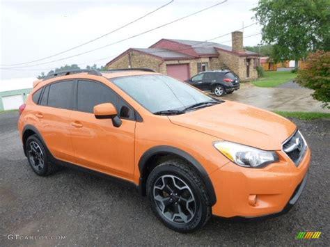 crosstrek subaru orange 2014 tangerine orange pearl subaru xv crosstrek 2 0i