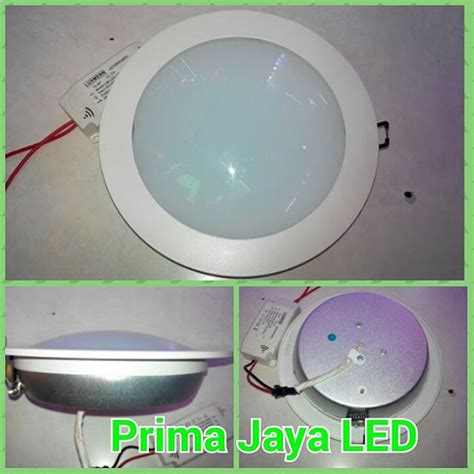 Downlight Led 1 Mata Kotak Cahaya Kuning Model Minimalis led downlight 12 watt model cembung