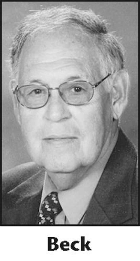 herbert beck obituary fort wayne indiana legacy