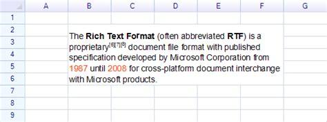rich text format adalah rich format text reogrid net spreadsheet component