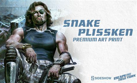 snake plissken premium art print sideshow collectibles