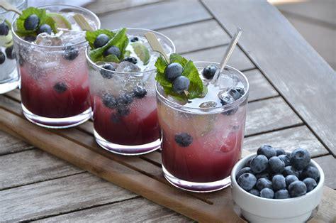 blueberry martini recipe blueberry peach mojito