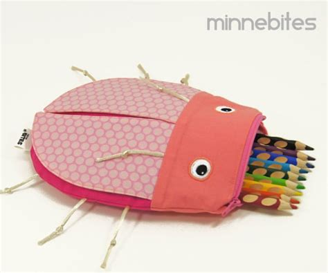 Handmade Pencil Cases - handmade bags and pencil cases from minne bites