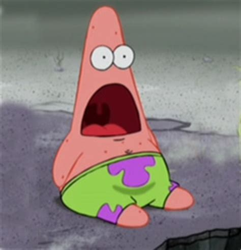 Meme Amazed - surprised patrick know your meme