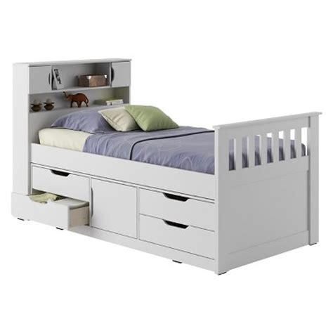 Childrens Beds Target by Bed With Storage White Corliving Target