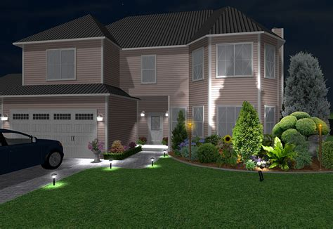 Landscape Lighting Designer Landscape Design Software Features Realtime Landscaping Plus
