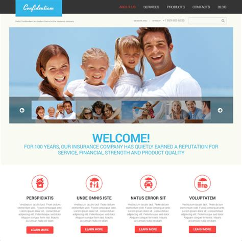 26 Insurance Website Themes Templates Free Premium Templates Insurance Website Templates