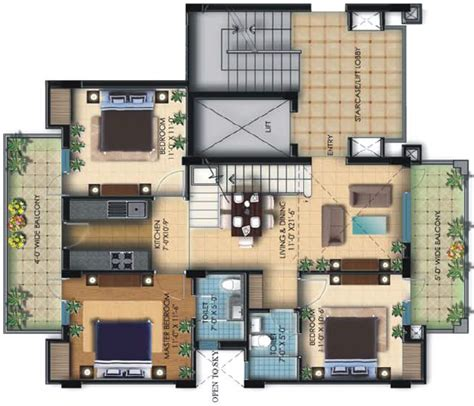home plan design 4 bhk espania sonepat