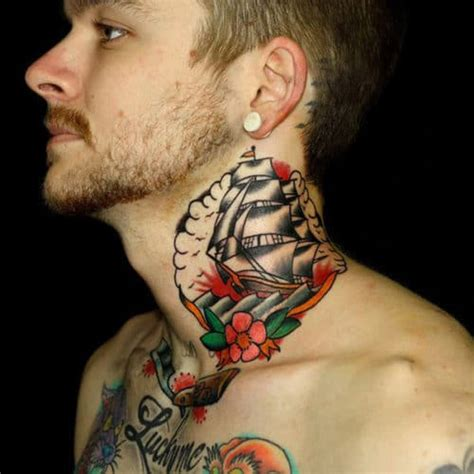 cool neck tattoos for men 101 best neck tattoos for cool designs ideas 2019