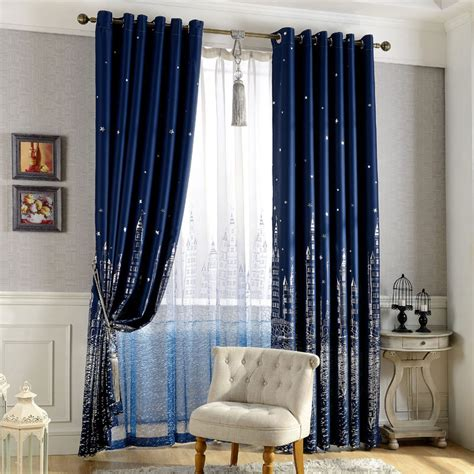 city curtains punching window curtains mediterranean bedroom balcony
