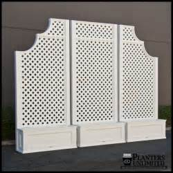 lattice planter with trellis planters with trellises trellis planters hooks lattice
