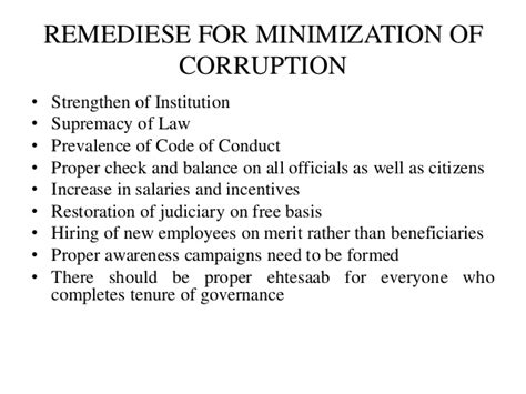 Effect Of Bribery Essay by Effects Of Corruption