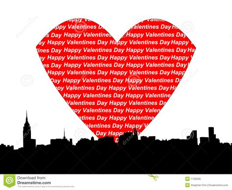 valentines in nyc manhattan valentines day royalty free stock photo image