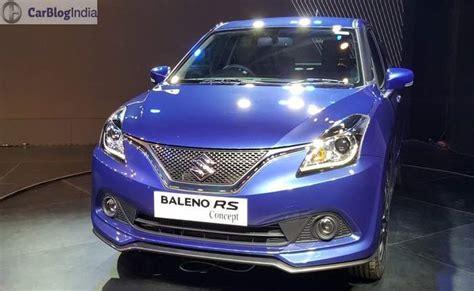 Maruti Suzuki Upcoming Models Maruti Suzuki Baleno Rs 2017 Price In India Launch Date