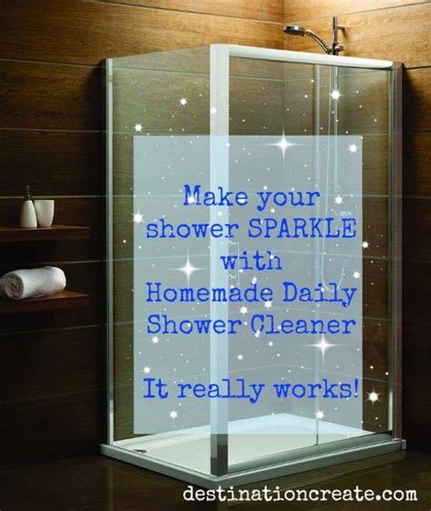 Homemade Shower Cleaner Glass Showers Homemade Shower Best Shower Cleaner For Glass Doors