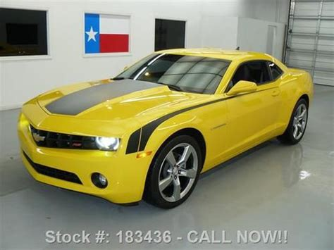 2010 camaro seats for sale sell used 2010 chevy camaro 2lt rs 6spd htd seats spoiler