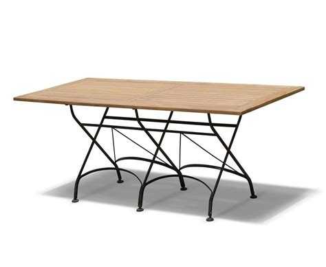 Rectangular Bistro Table Rectangular Folding Bistro Table