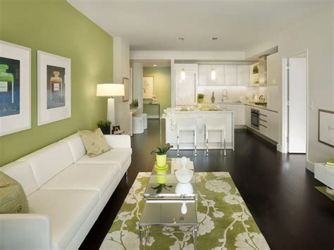 green accent wall green accent wall living room contemporary with green