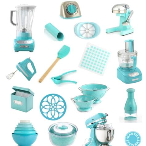 light blue kitchen accessories tiffany blue appliances and accessories for a total