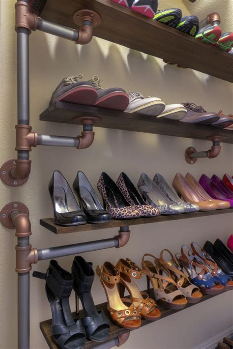Pipe Shoe Rack by Iron Pipe Shoe Rack