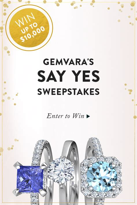Engagement Ring Sweepstakes - blog win your engagement rings from gemvara