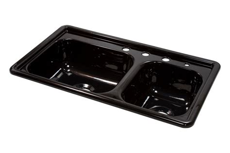 lyons dksr3 5 33 x19 mobile home acrylic kitchen sink 4 holes