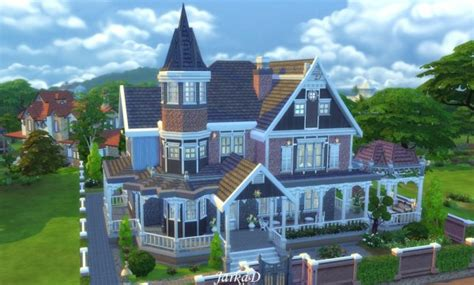 Build A Victorian House Jarkad Sims 4 Victorian House No 1 Sims 4 Downloads