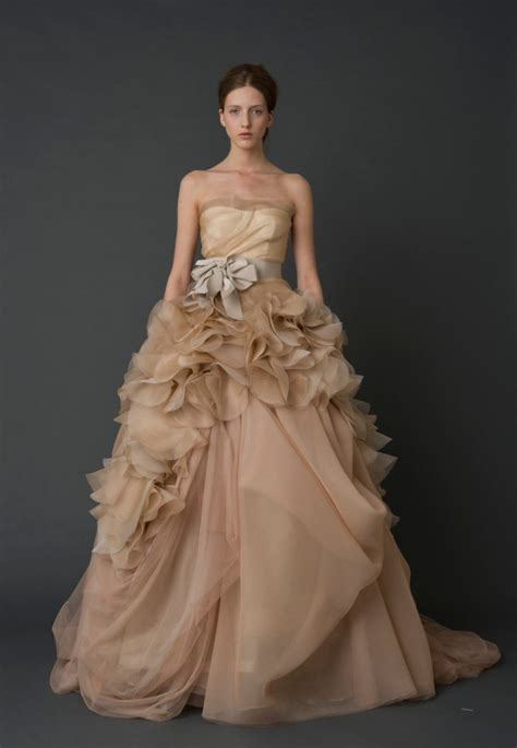 Most Fabulous Vera Wang Wedding Gowns Bridal Collection by Exquisite Vera Wang Wedding Dresses Modwedding