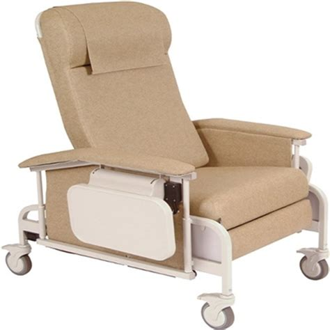 Geriatric Chair by Winco 6551 Carecliner Drop Arm Geriatric Chair Geri Chair