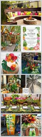 hawaiian backyard party ideas engagement party inspiration unique pastiche events
