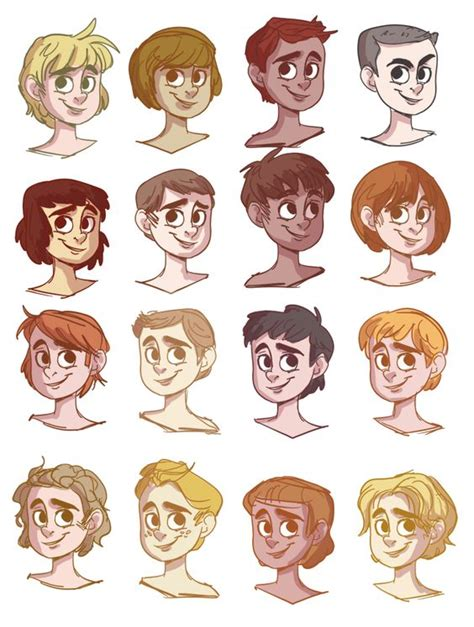 guy hairstyles drawing boy hairs by snarkies on deviantart draw tutorials