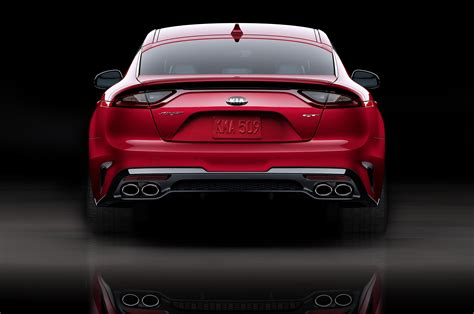 Gt Kia 2018 Kia Stinger Gt Rear End 1 Motor Trend