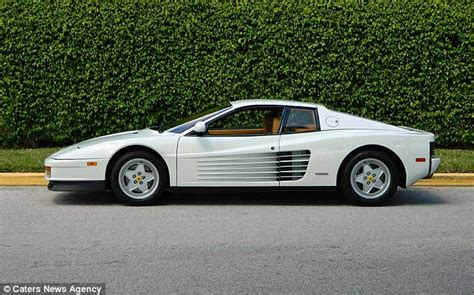 Testarossa White White Testarossa Once Owned By The Real Wolf Of