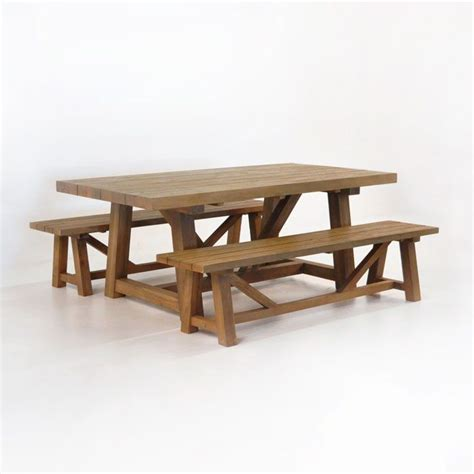 country style dining table with bench 23 best images about reclaimed teak furniture on