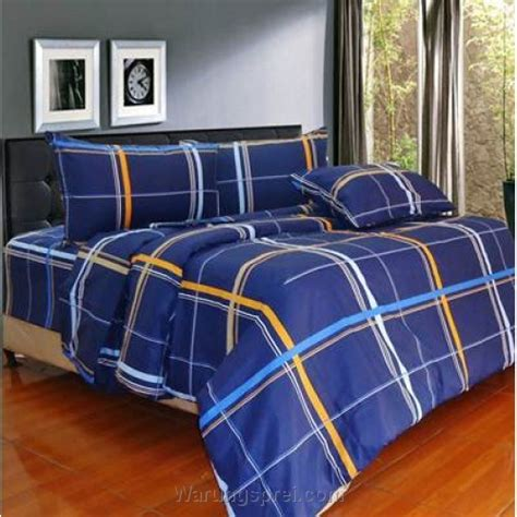 Ellenov Sprei Set Anti Air Merah Uk 120 X 200 X 30 Cm bed cover set experia biru uk 100 t 25cm