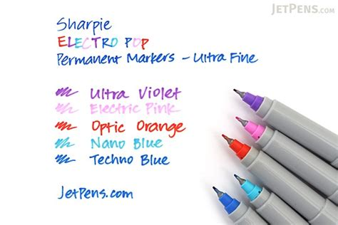 Sharpie Ultra Point 80s Glam Color Set 5 Permanent Markers sharpie electro pop permanent marker ultra point