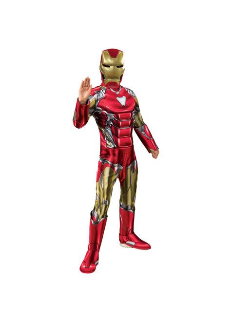boys endgame iron man costume superhero costumes