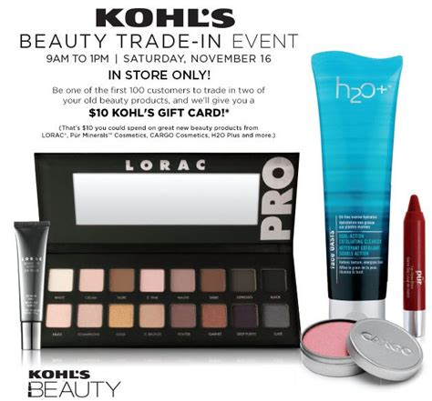 Kmart Smart Plan Gift Card - kohl s beauty trade in event free 10 kohl s gift card