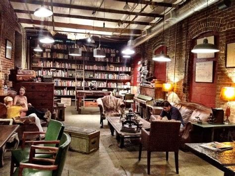 coffee shop interior design book library wall and vintage decor coffee shops pinterest