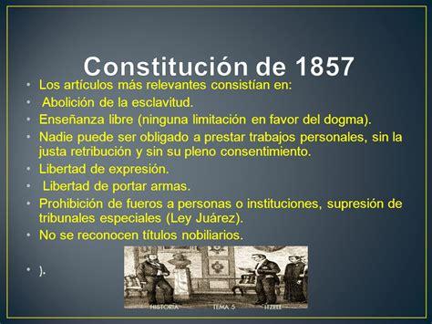 la constituci 243 n de 1917 y el articulo 3 de la constitucion mexicana de 1857 ensayos y constituci 243 n de 1857 tema 5