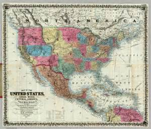 united states and mexico map map of the united states canada mexico central america