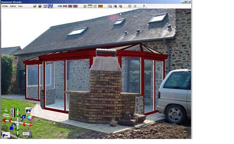 plan veranda 3d gratuit logiciel de dessin d calc veranda 2000 std