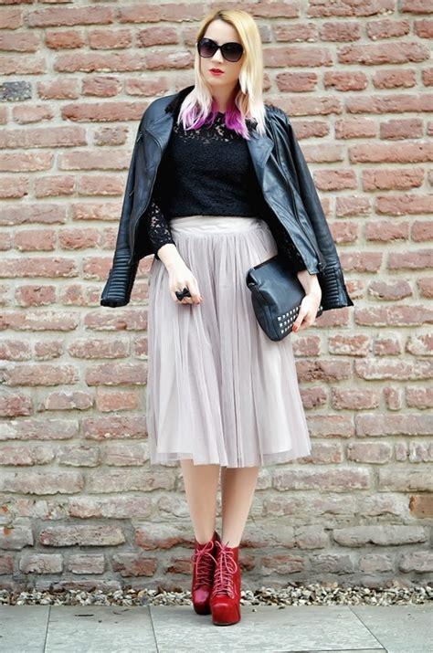 Rok Tutu Brenda Mini Skirt get the look tulle skirts 2018 fashiongum