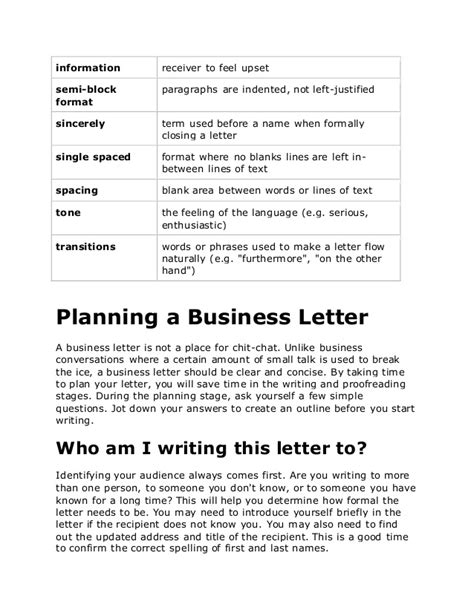Closing Sentence Business Letter Business Letters In
