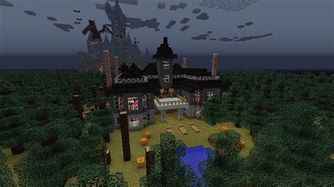 Minecraft Haunted House by Minecraft Haunted Mansion Minecraft Project